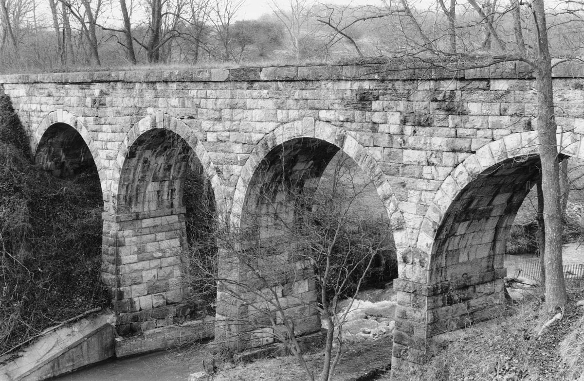 Valley Railroad Stone Bridge