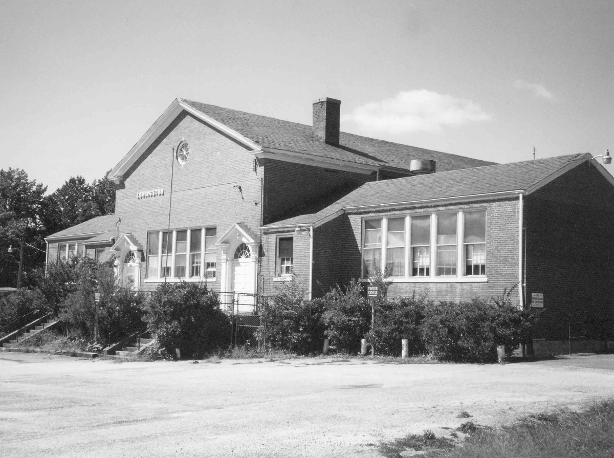 Lovingston High School Building