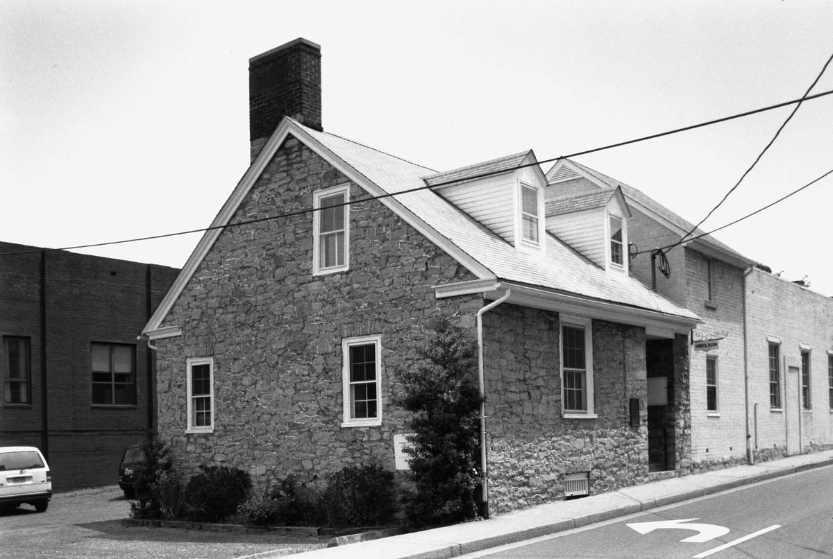 The Harrison House (formerly the Thomas Harrison House)