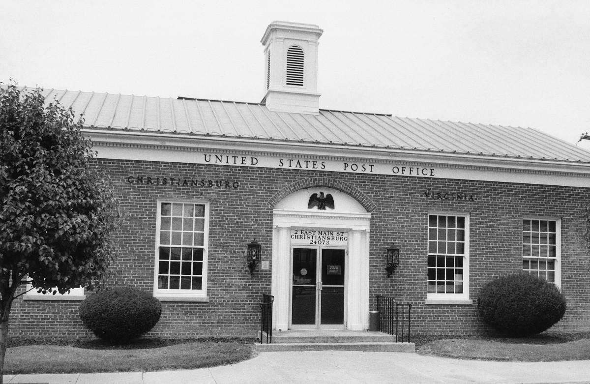 Christiansburg Post Office