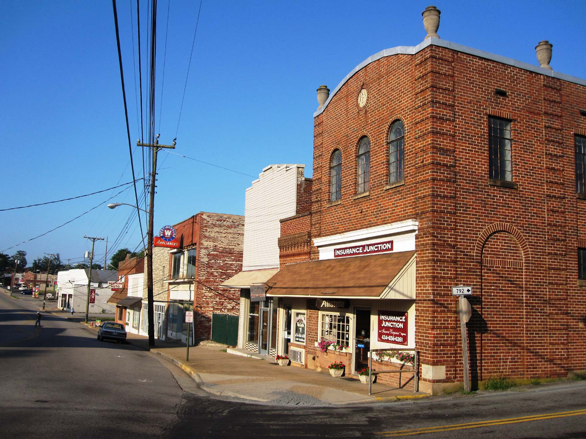 Gretna Commercial Historic District