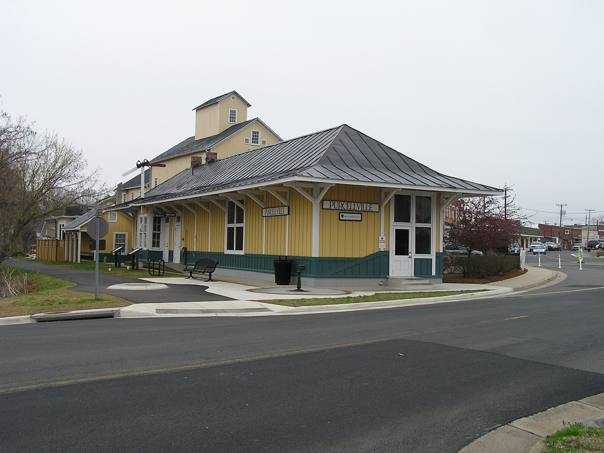Purcellville Train Station