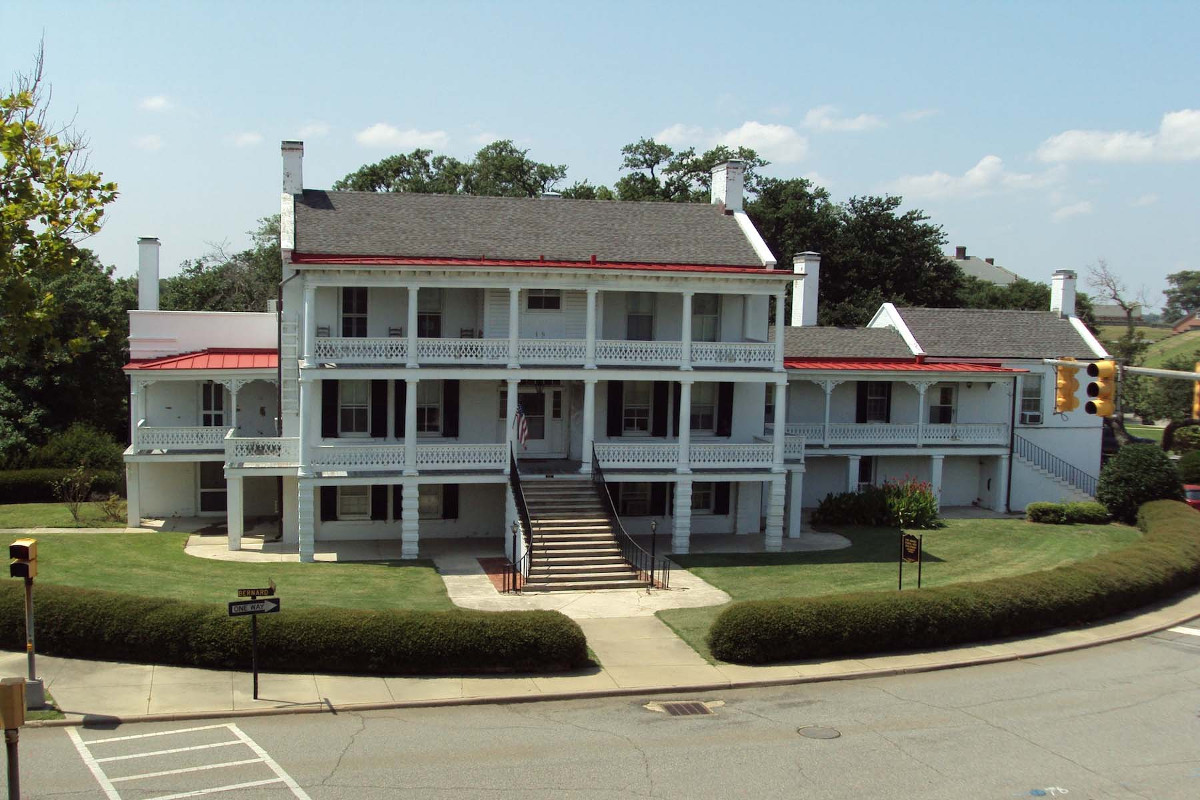 Fort Monroe: Quarters #1