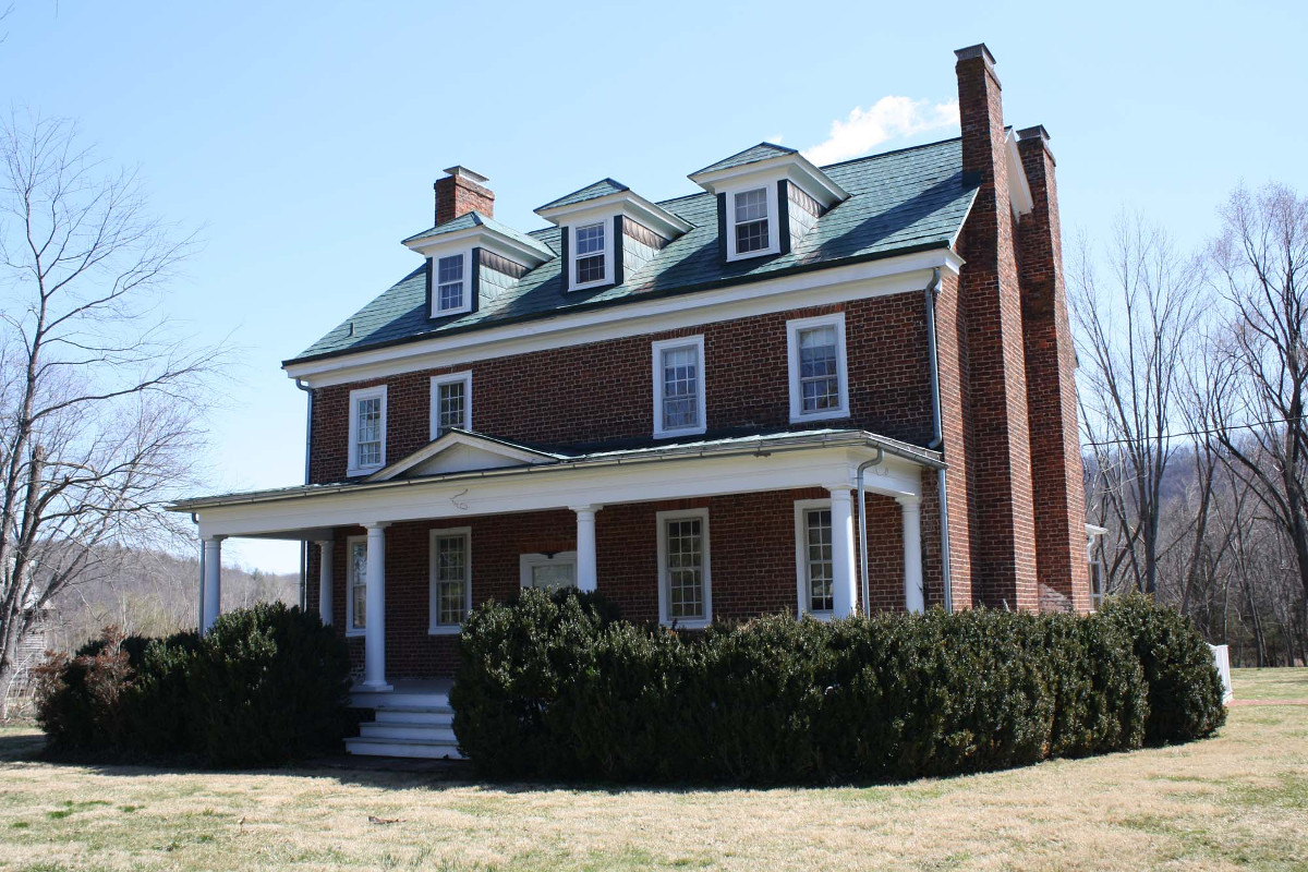 Major James Woods House (Three Chimneys)