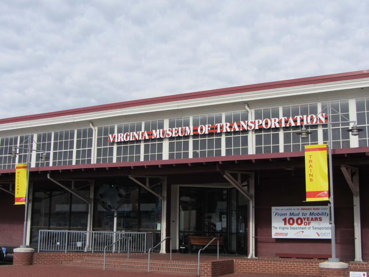 N&W Railway Freight Station