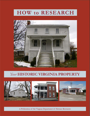 cover of How to Reseearch Your Historic Virginia Property