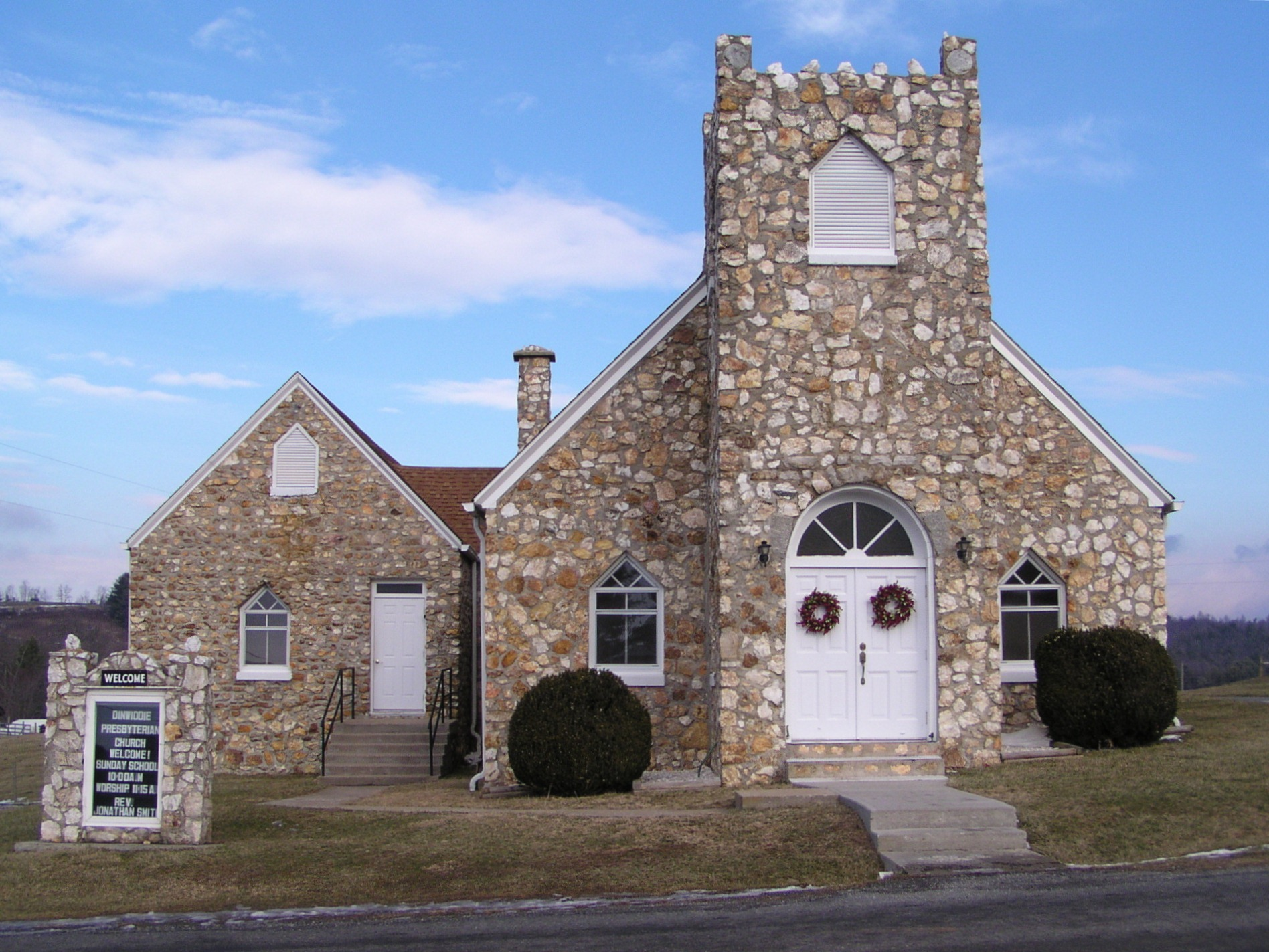 Dinwiddie Presbyterian Church and Cemetery