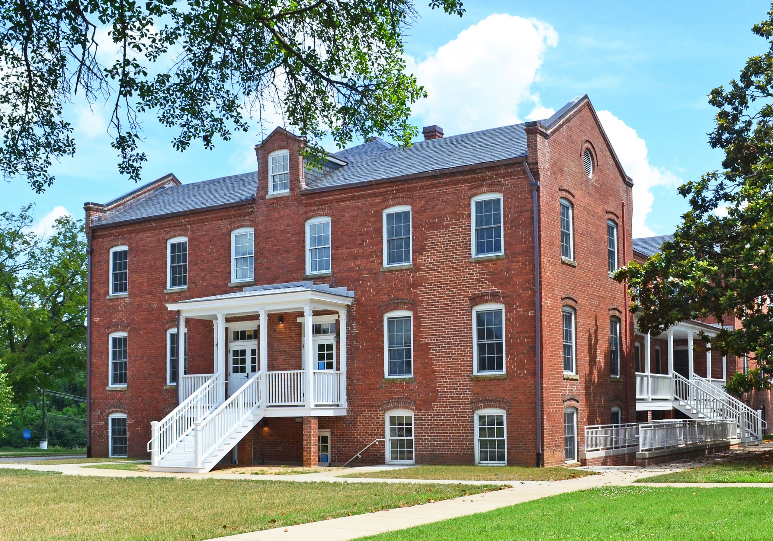 Vawter Hall and Old President's House