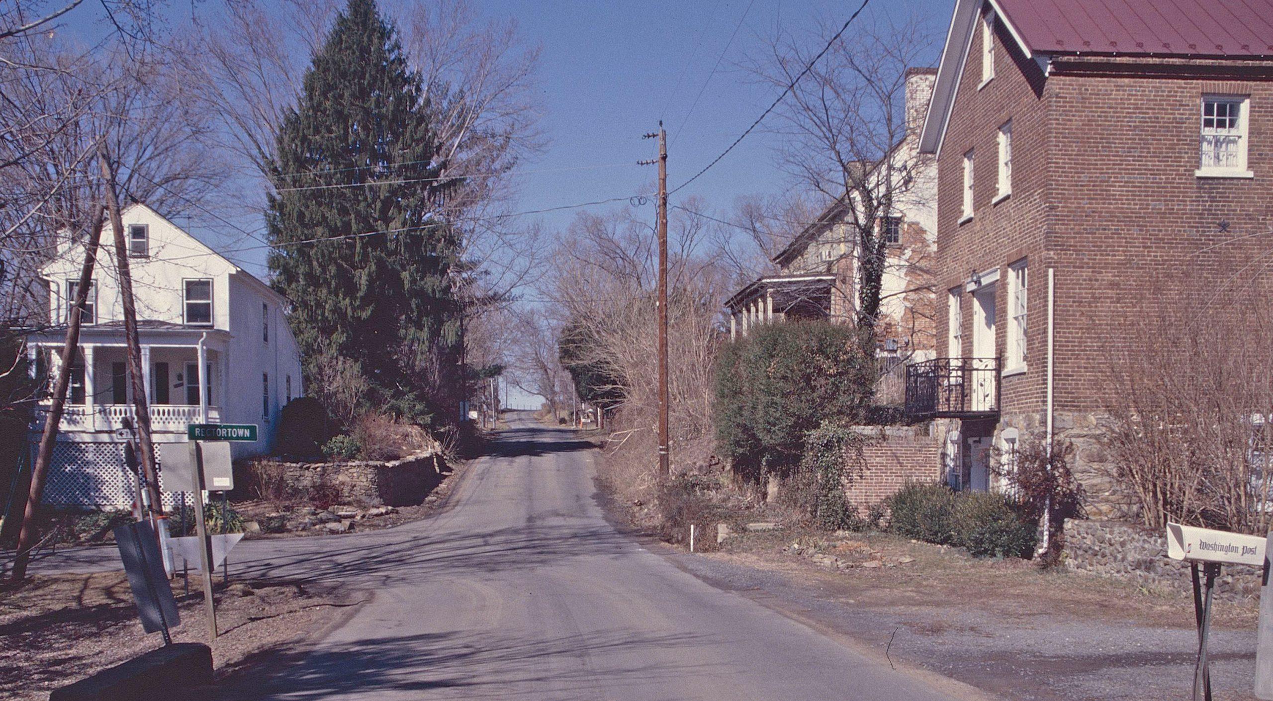 Rectortown Historic District