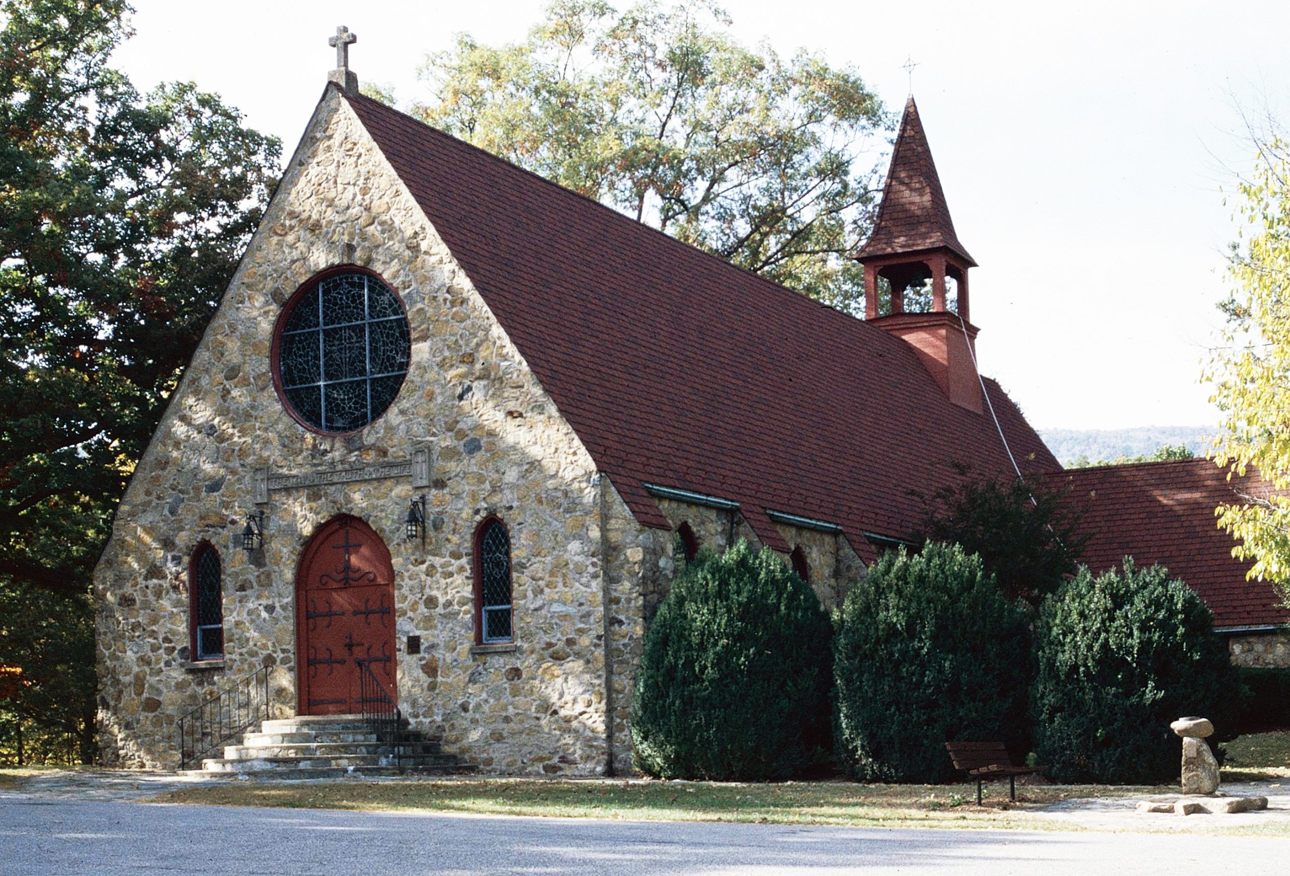Gibson Memorial Chapel and Martha Bagby Battle House at Blue Ridge School