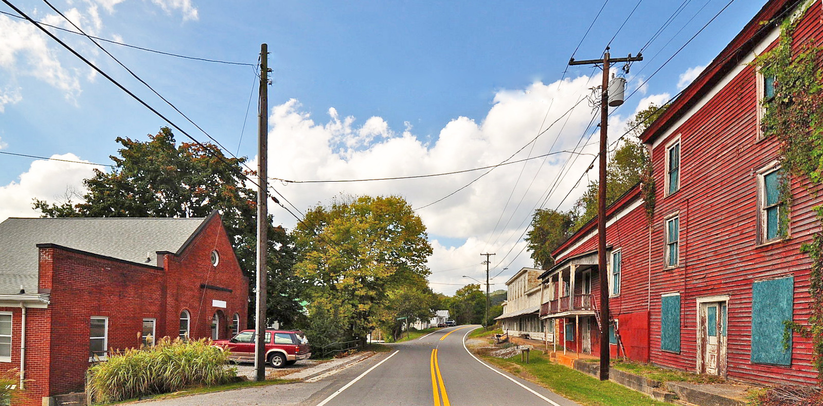 Shawsville Historic District