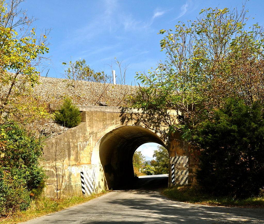 Virginian Railway Underpass