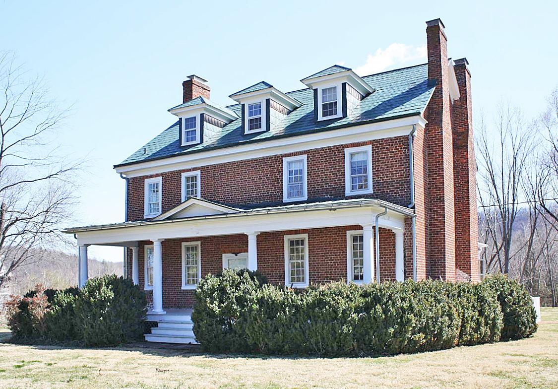 Major James Woods House (Three Chimneys)