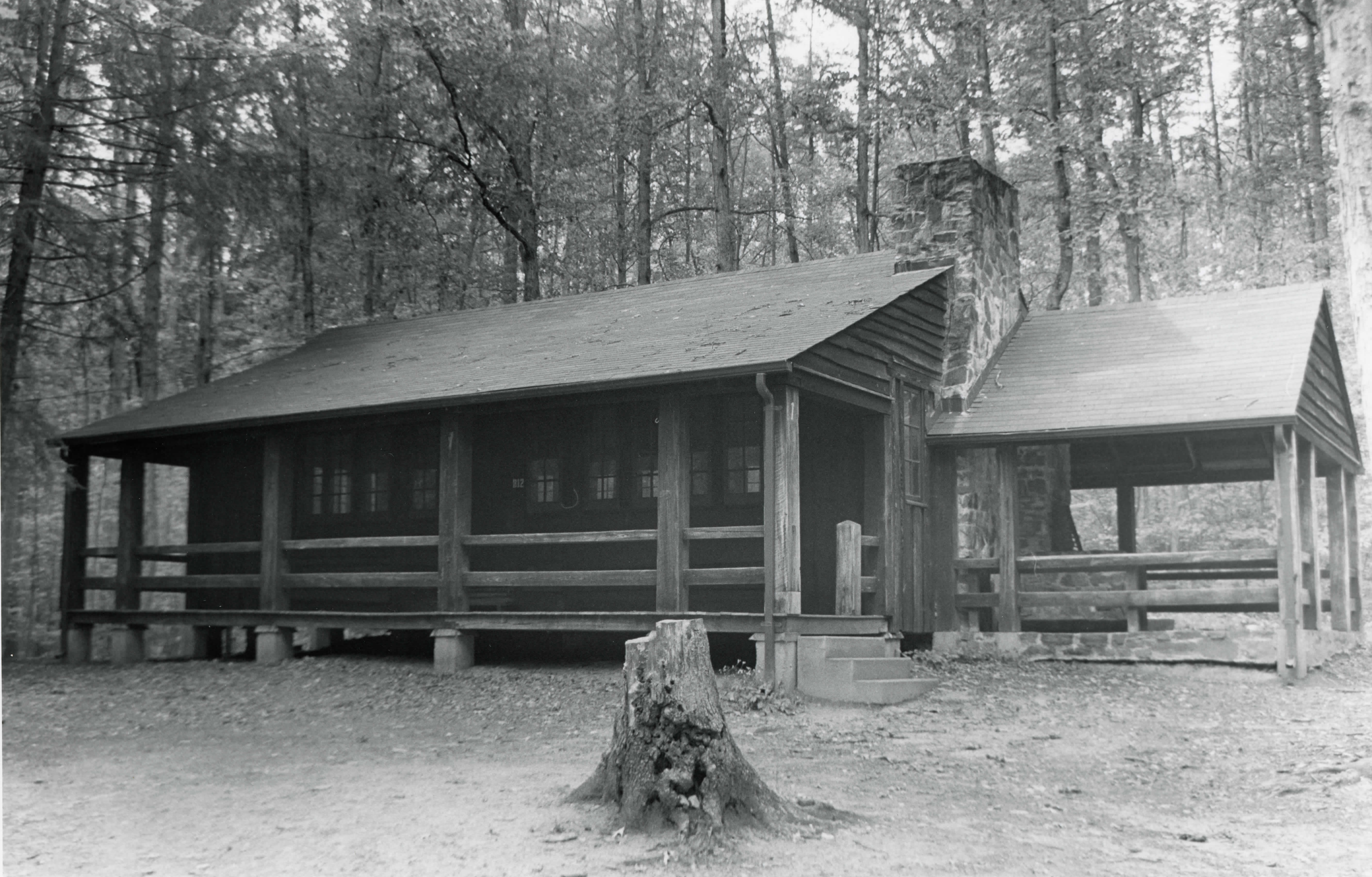 ECW Architecture at Prince William Forest Park (MPD)