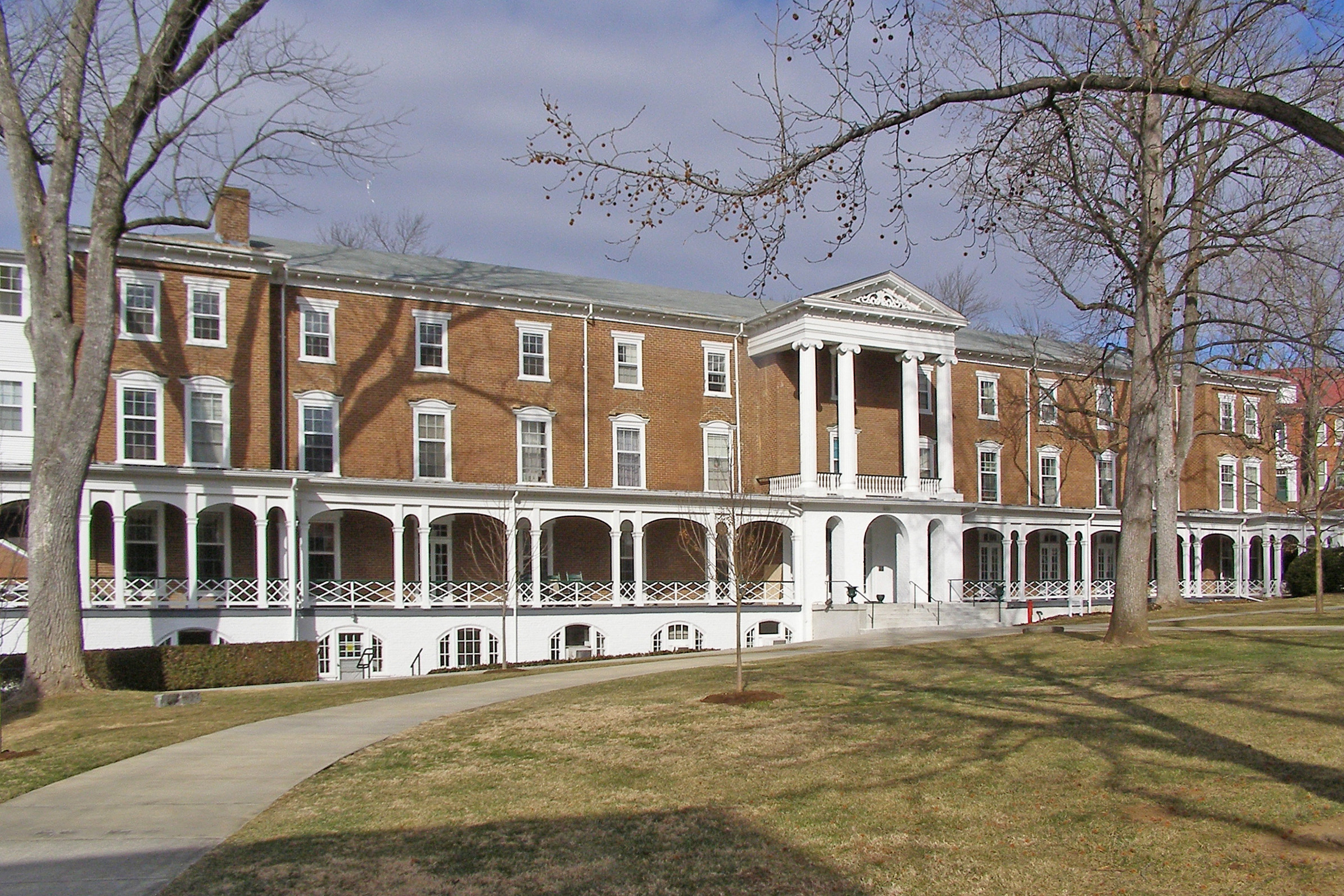 Hollins College Quadrangle