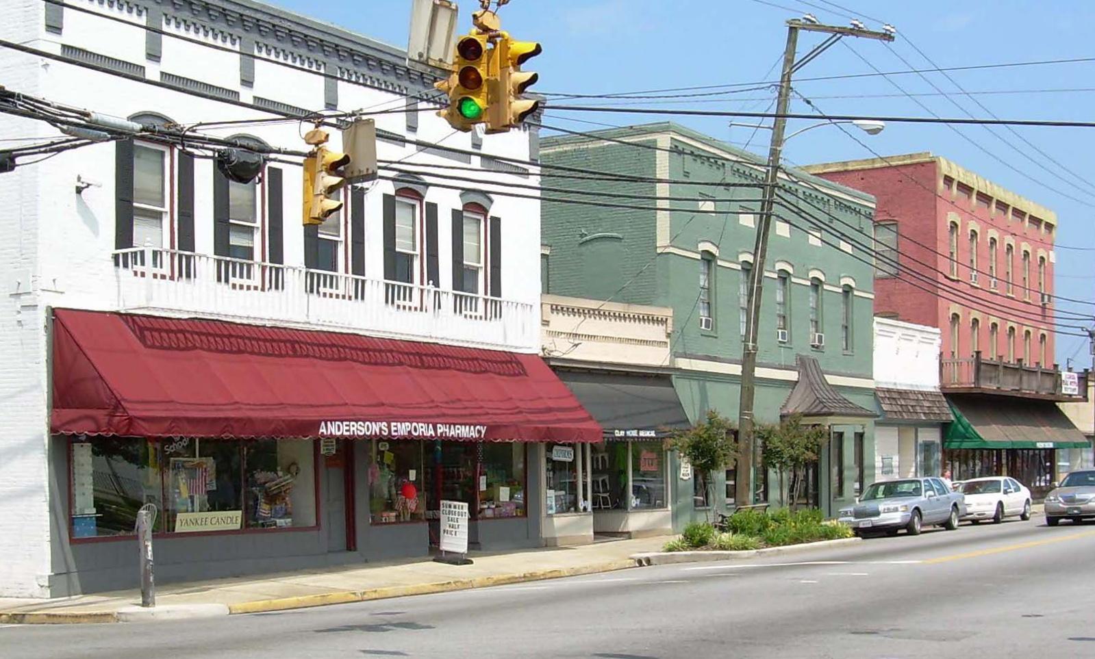 Hicksford-Emporia Historic District