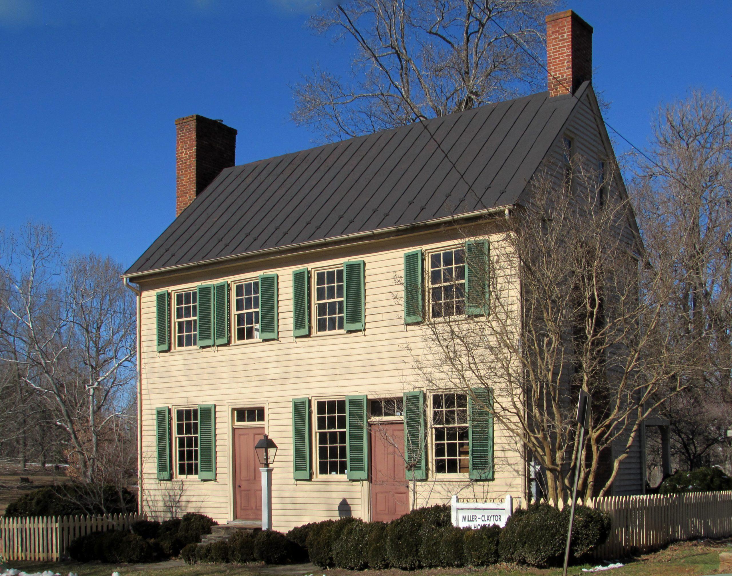Miller-Claytor House