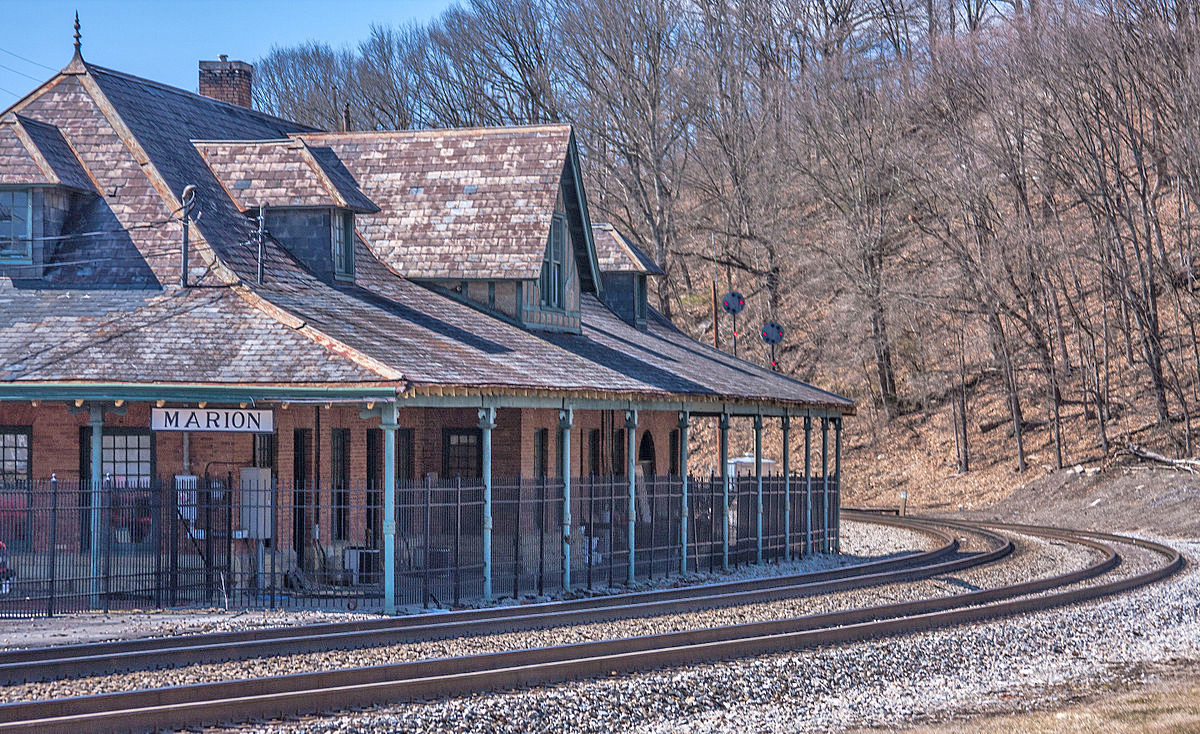 Marion Norfolk & Western Railway Depot
