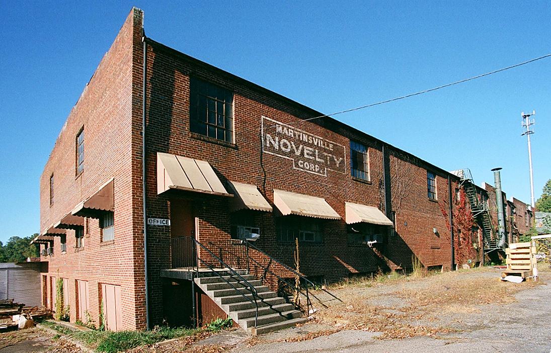 Martinsville Novelty Corporation Factory