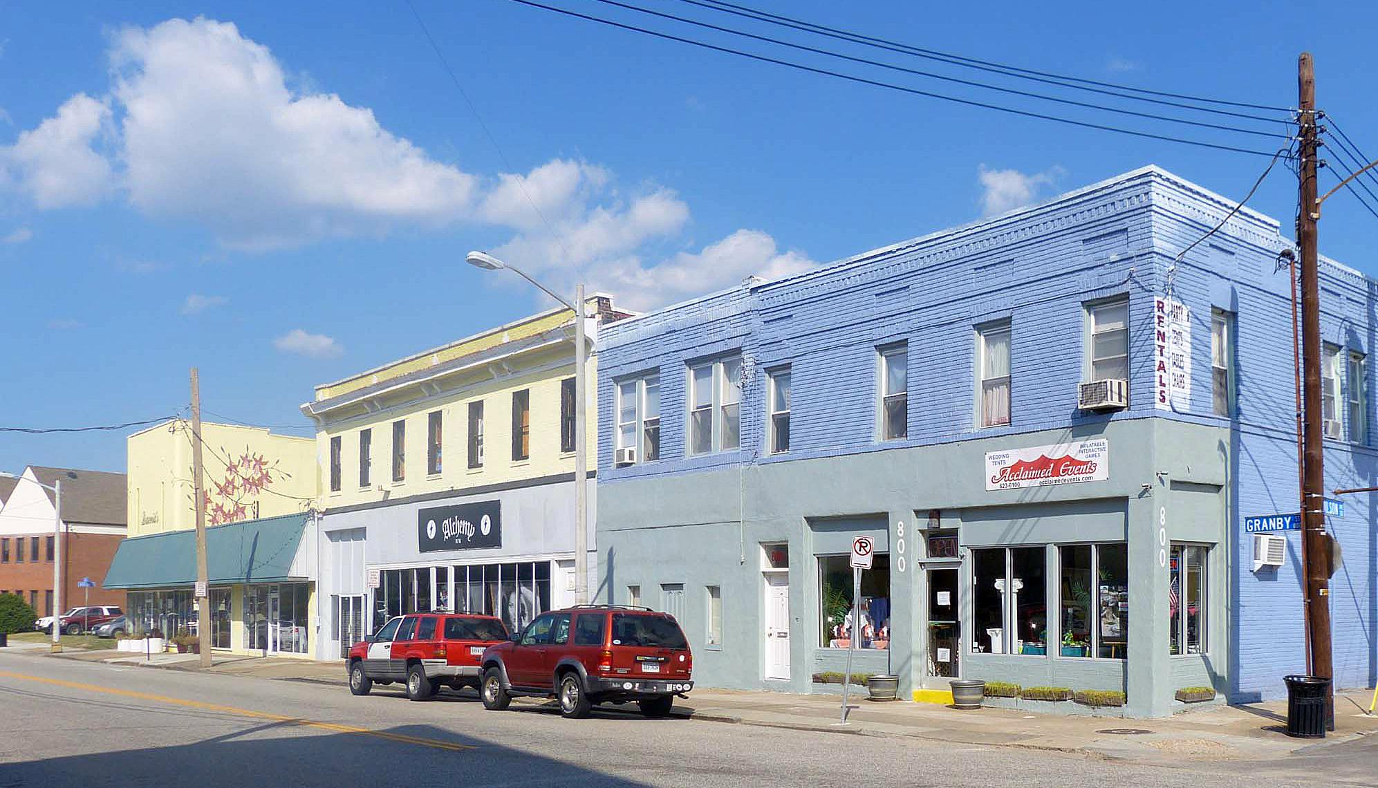 Norfolk Auto Row Historic District