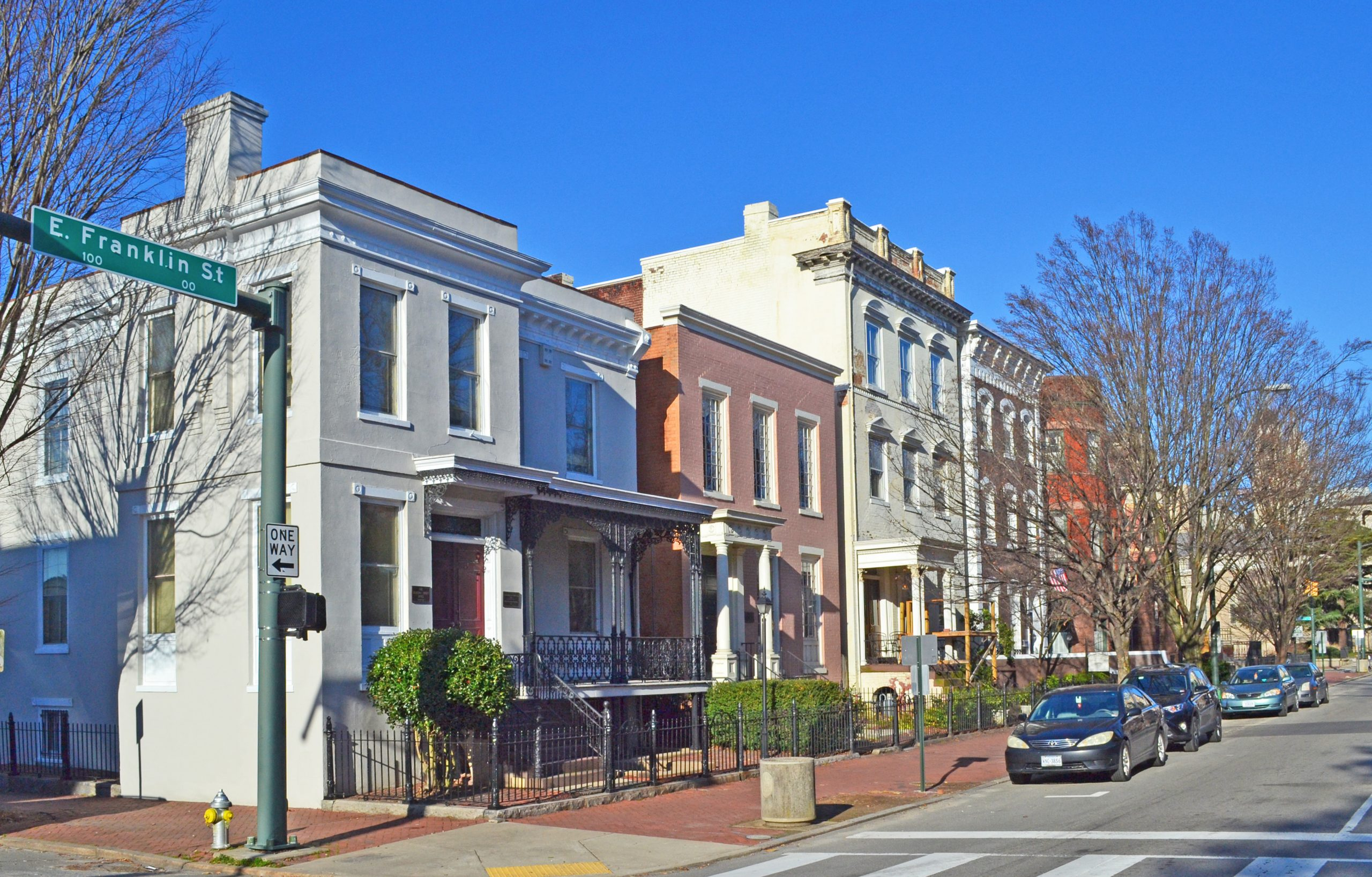 0-100 Block East Franklin Street Historic District