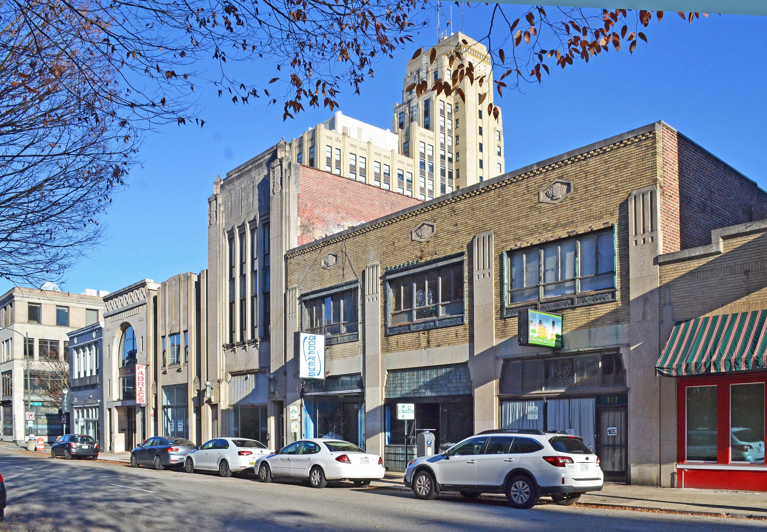 Grace Street Commercial Historic District