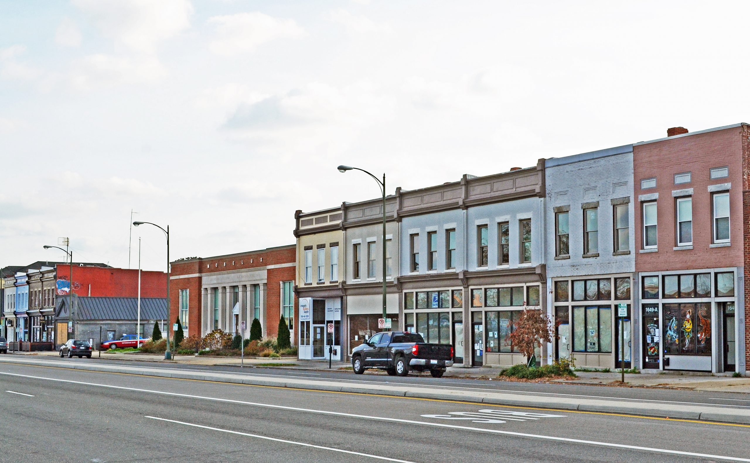 West Broad Street Commercial Historic District