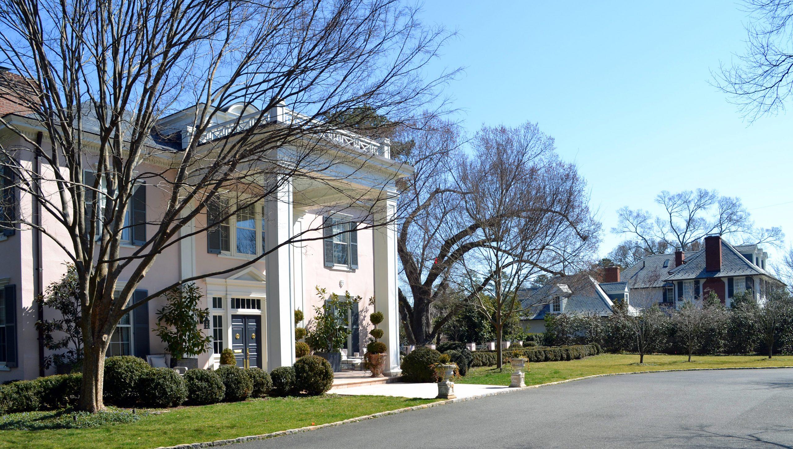 Three Chopt Road Historic District