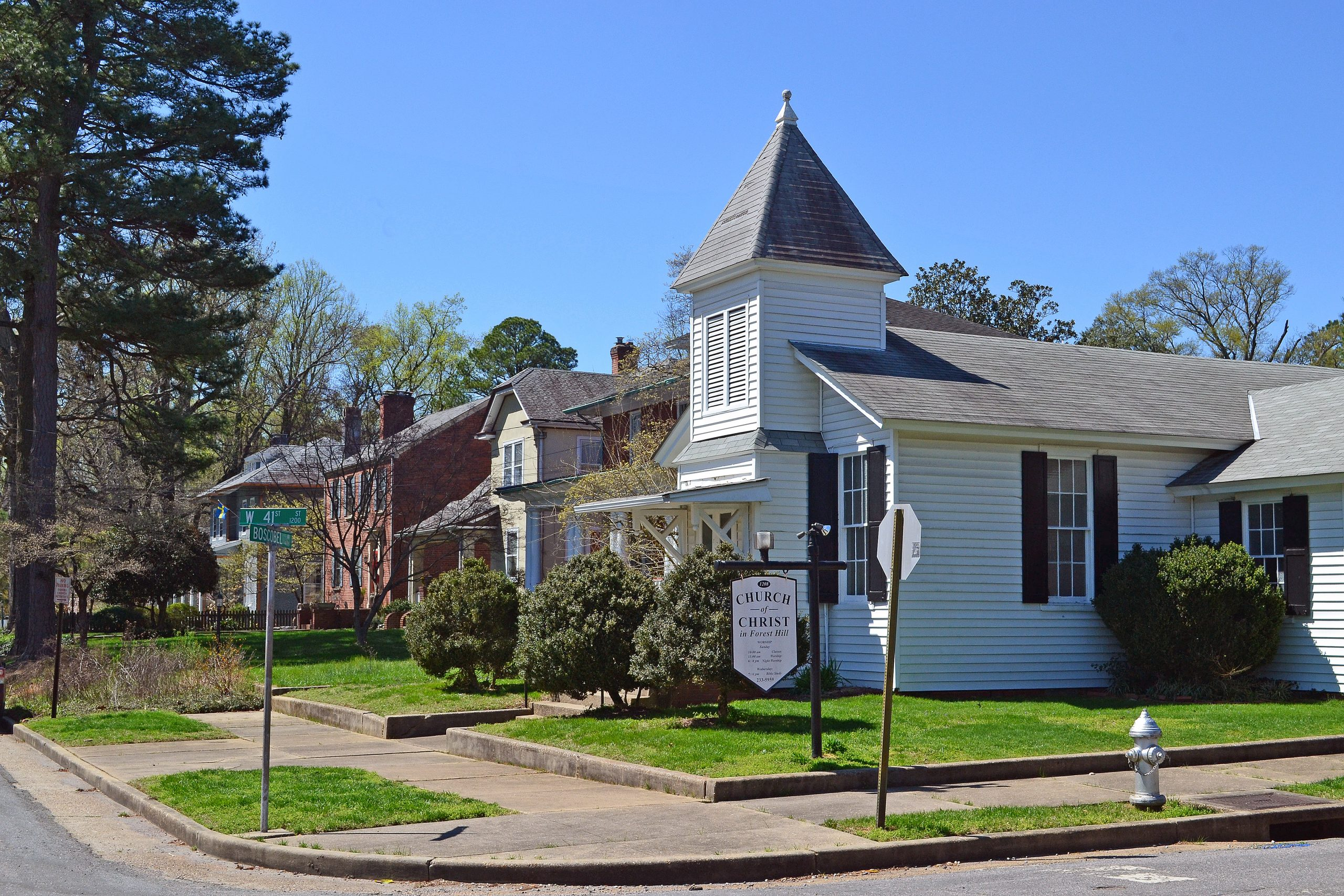 Forest Hill Historic District