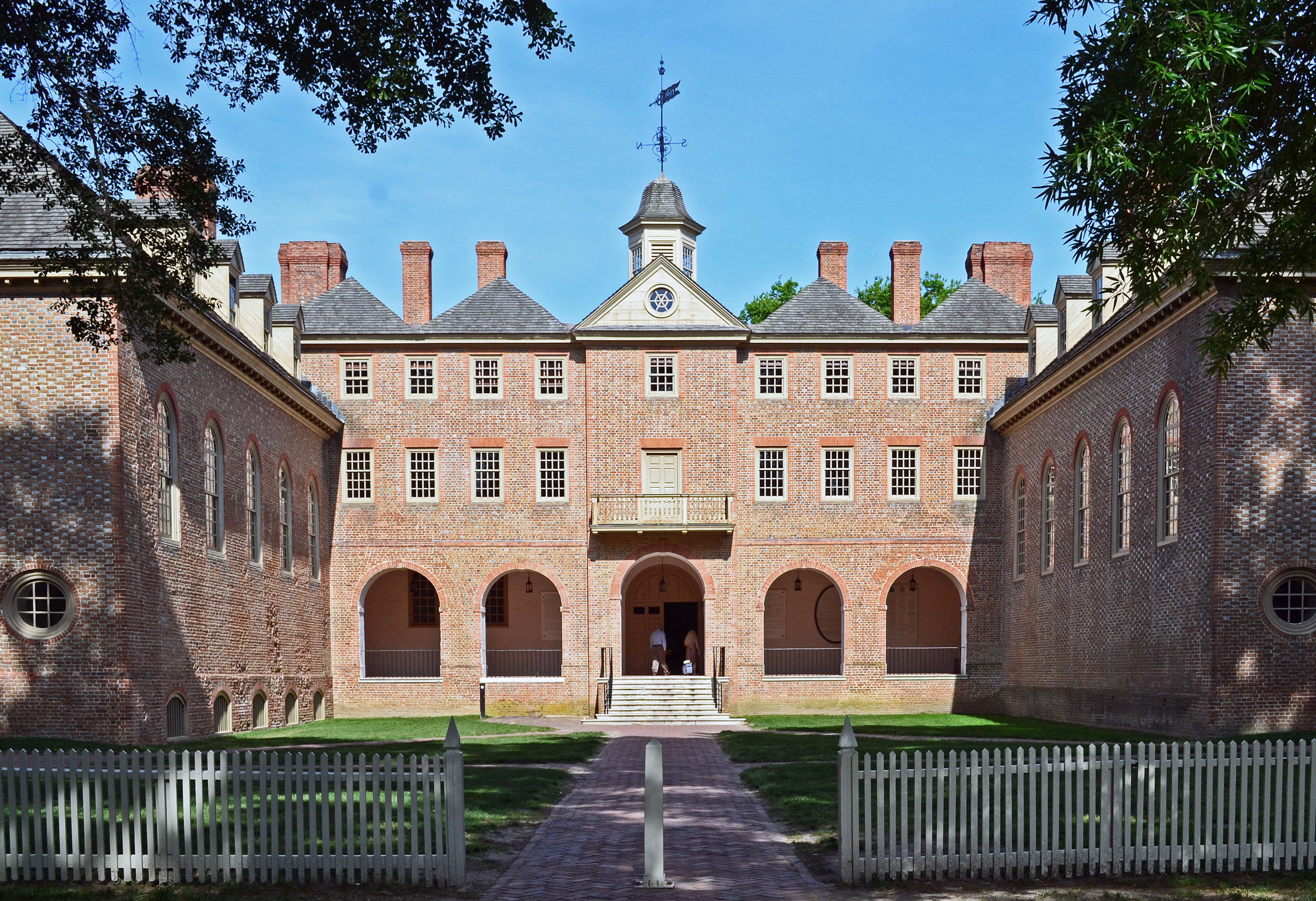 Wren Building (Old College Yard, College of William and Mary)
