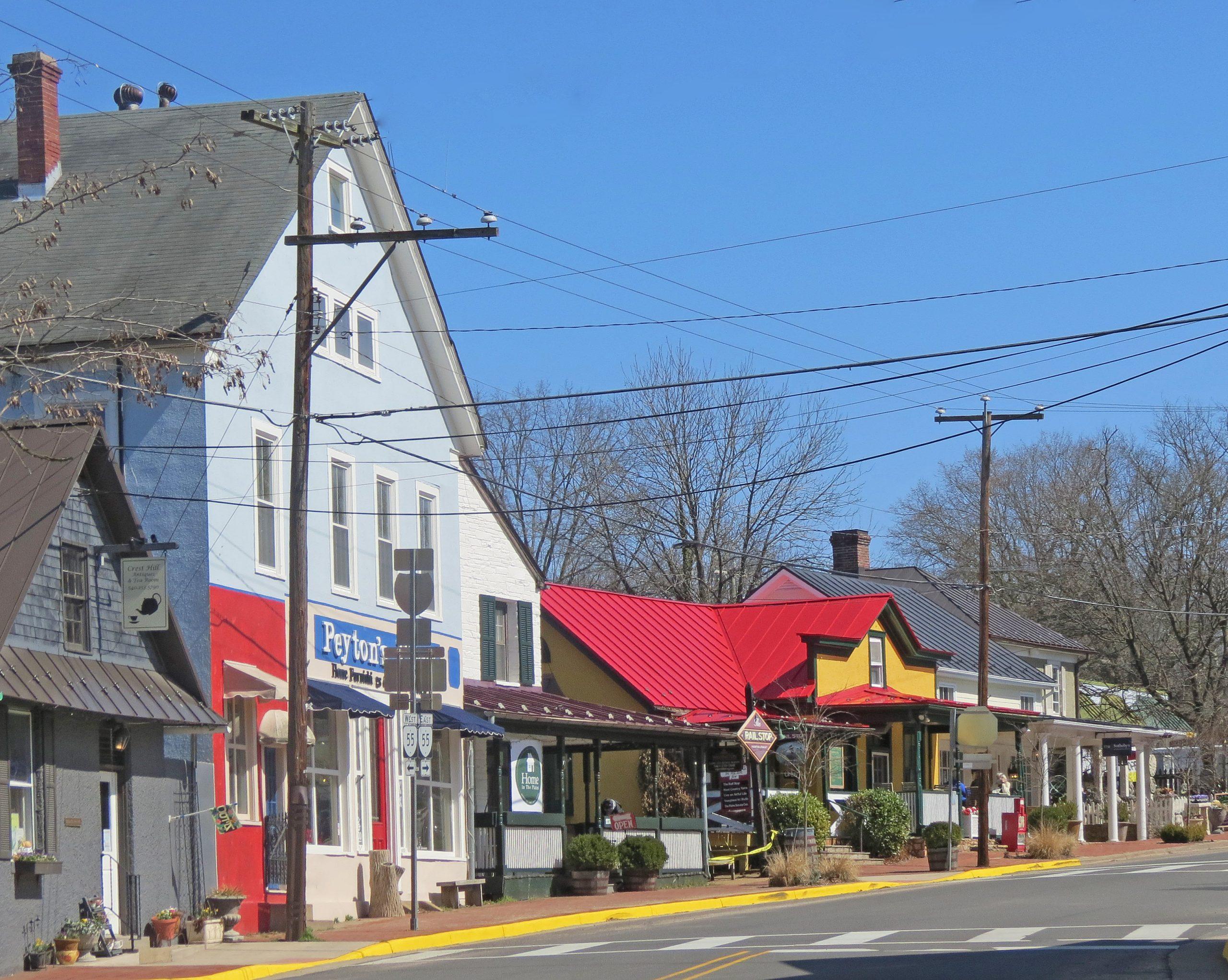 The Plains Historic District