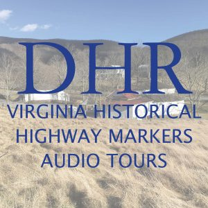 Logo of DHR historical marker audio tour