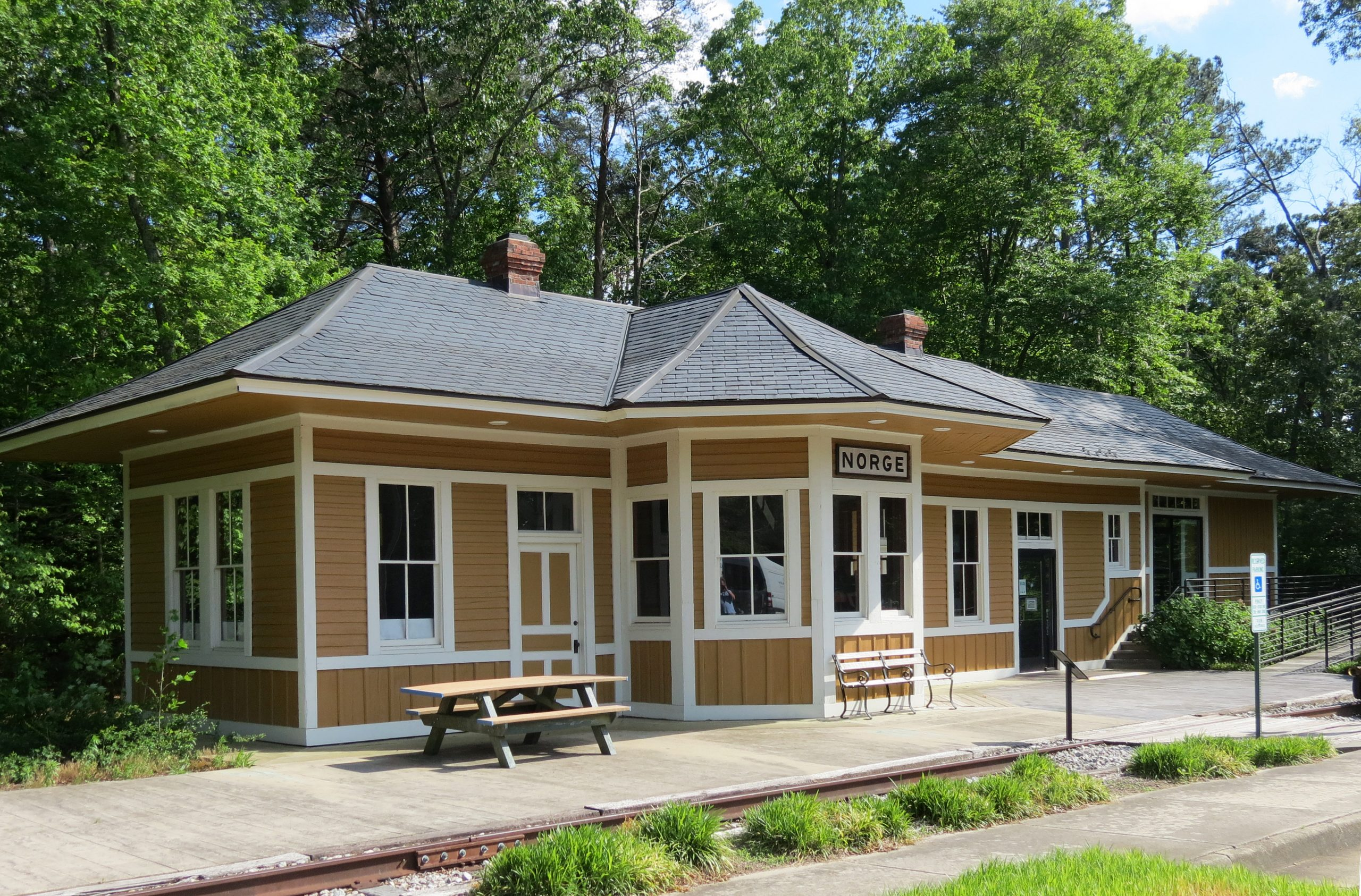 Norge Train Depot