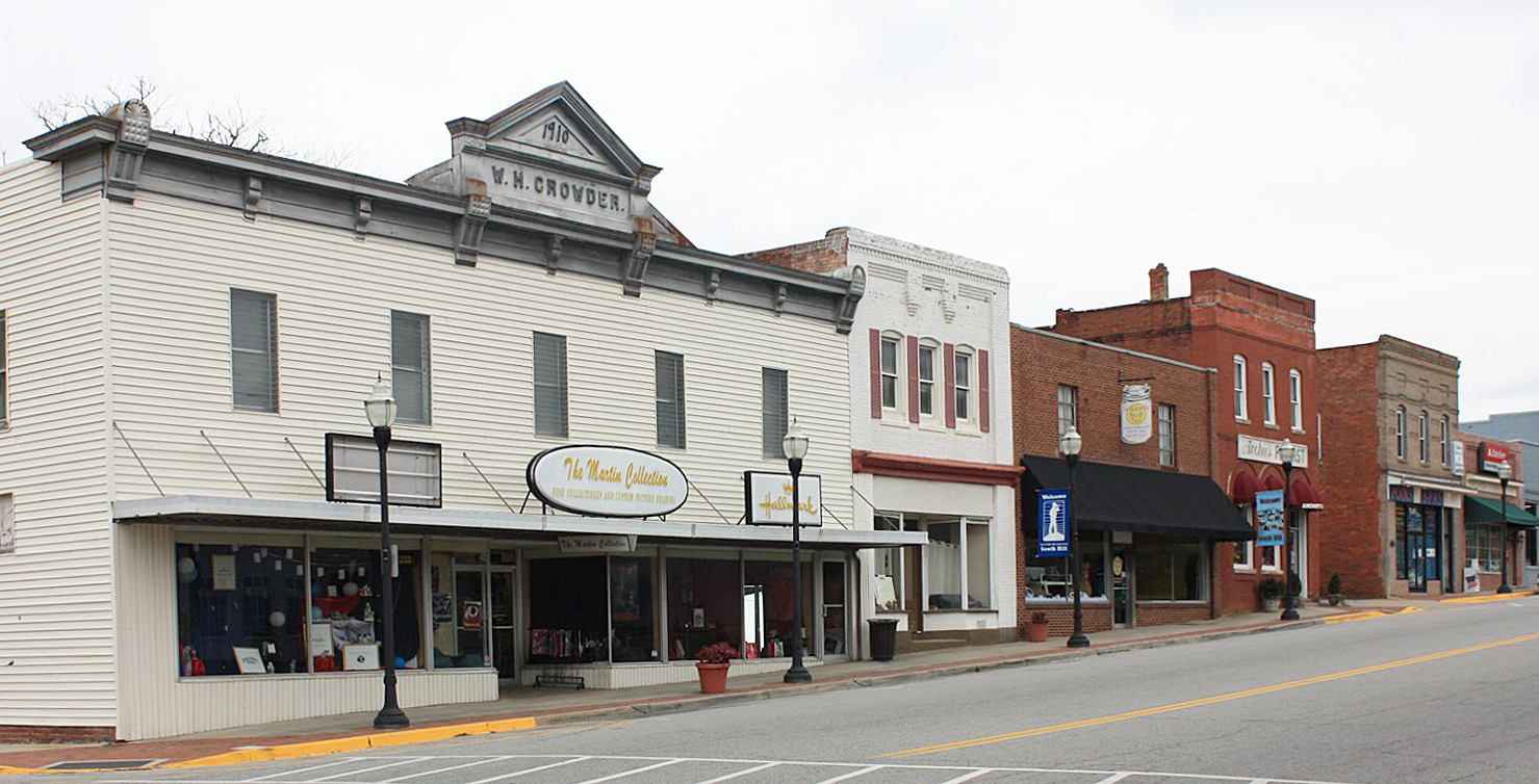 South Hill Commercial Historic District