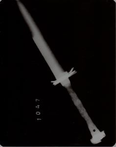 X-ray of bayonet