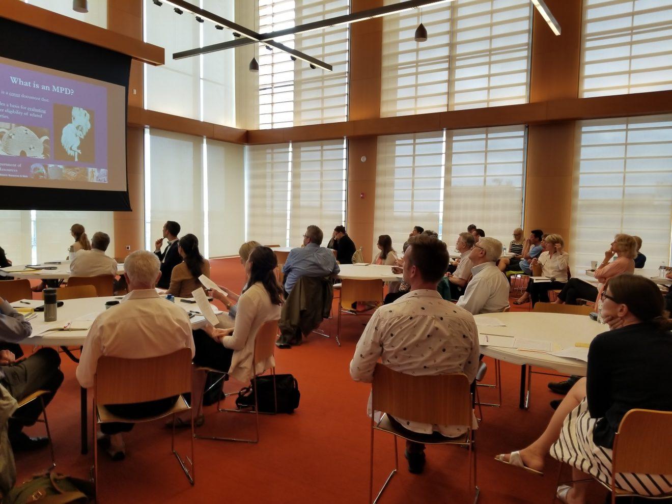 CLG participants in a workshop