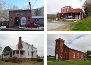 Photos of buildings for listing in the Virginia Landmarks Register