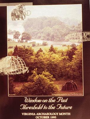 Archaeology-month poster 1995: Thunderbird