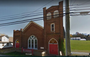 Google map view of Mount Pleasant Church.