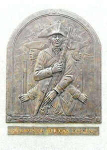 Bas-relief sculpture on Patriots of African Descent Monument, Valley Forge, PA