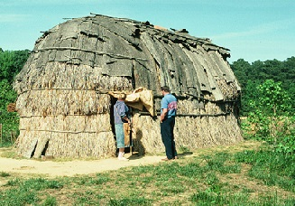 Reconstructed house
