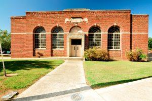 Franklin_High_School_Gym_2019_exterior_front_facade_VLR_Online