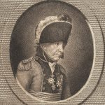 Drawing of Johann von Ewald