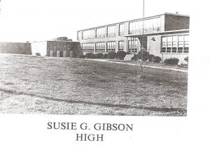 Historical image of Gibson High School