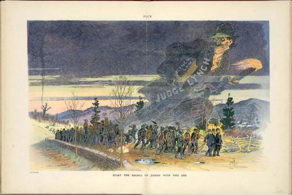 Anti-lynching illustration, circa 1912