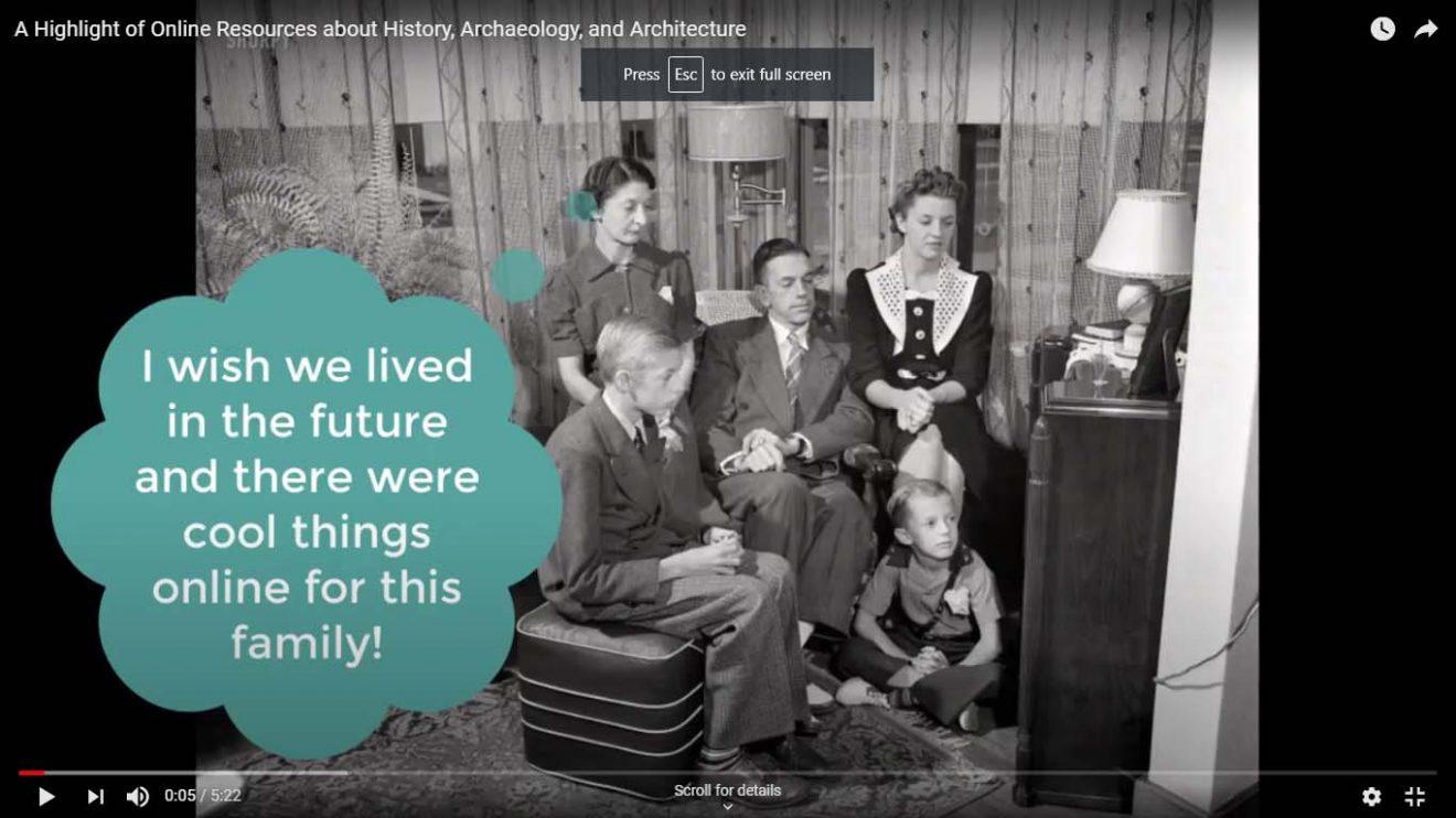 Screenshot Online Resources video