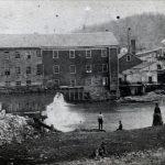 Undated photo of Holston Mills.
