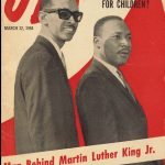 Wyatt Tee Walker (left) and Martin Luther King
