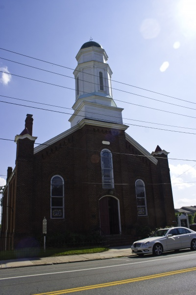 First Baptist church cville wikipedia