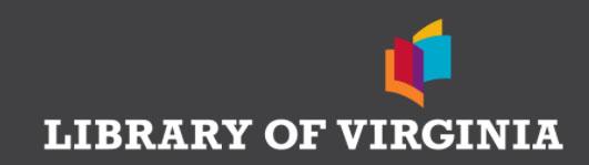 Library of Va logo